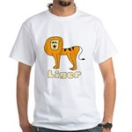Liger White T-shirt