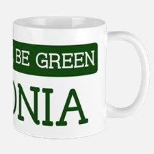 Green ESTONIA Mug