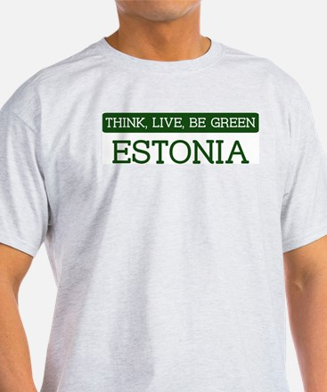 Green ESTONIA T-Shirt