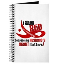 Red For My Husband Heart Disease Journal