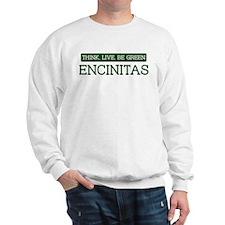 Green ENCINITAS Sweatshirt