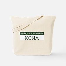 Green KONA Tote Bag