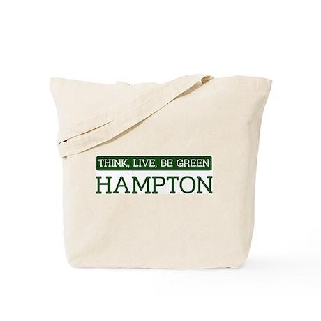 Green HAMPTON Tote Bag