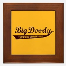 BIG DOODY Framed Tile