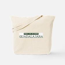 Green GUADALAJARA Tote Bag