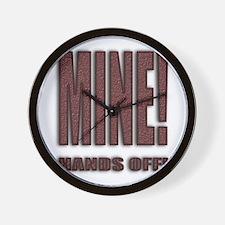 Unique Hands off Wall Clock