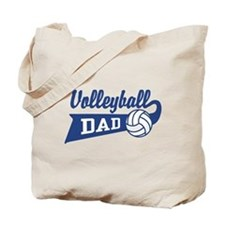 Volleyball Dad Tote Bag