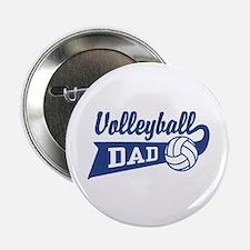 Volleyball Dad 2.25" Button