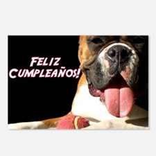 Birthday Boxer Postcards (Package of 8)