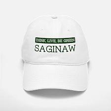 Green SAGINAW Baseball Baseball Cap