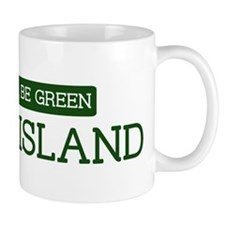 Green RHODE ISLAND Mug