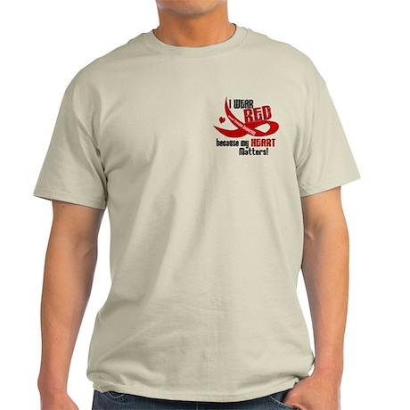 I Wear Red For Me Heart Disease Shirt Light T-Shir