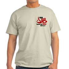 I Wear Red For Me Heart Disease Shirt T-Shirt
