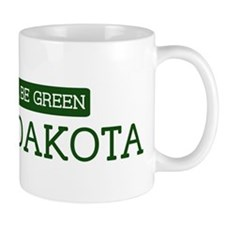 Green NORTH DAKOTA Mug