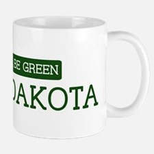 Green NORTH DAKOTA Mug