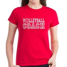 Volleyball Coach Tee