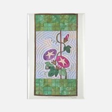Morning Glory Rectangle Magnet (10 pack)