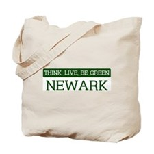 Green NEWARK Tote Bag