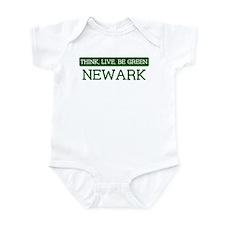Green NEWARK Infant Bodysuit