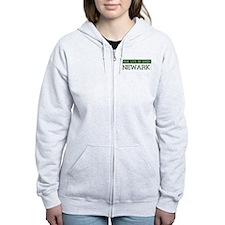 Green NEWARK Zip Hoodie