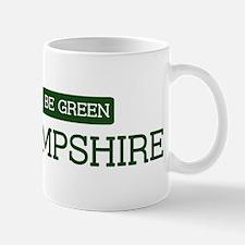 Green NEW HAMPSHIRE Mug