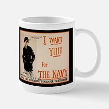 World War I Navy Recruiting Mug