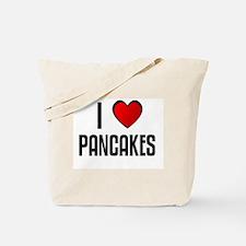I LOVE PANCAKES Tote Bag
