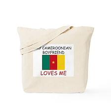 My Cameroonian Boyfriend Loves Me Tote Bag
