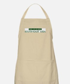 Green SOUTH-EAST ASIA BBQ Apron