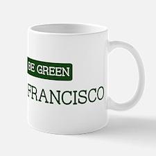 Green SOUTH SAN FRANCISCO Mug