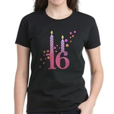 16th Birthday Candles Tee