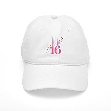 16th Birthday Candles Cap