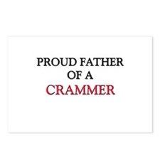 Proud Father Of A CRAMMER Postcards (Package of 8)