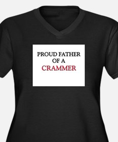 Proud Father Of A CRAMMER Women's Plus Size V-Neck