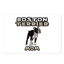 Boston Terrier Mom Postcards (Package of 8)