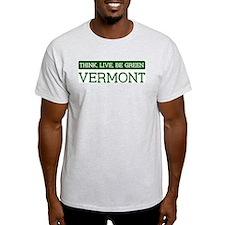 Green VERMONT T-Shirt