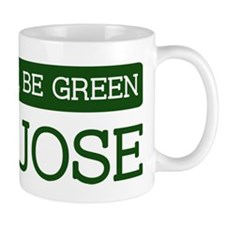 Green SAN JOSE Mug