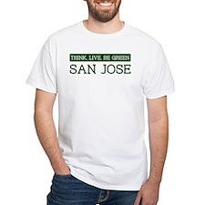 Green SAN JOSE Shirt