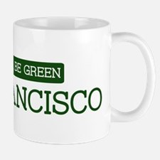 Green SAN FRANCISCO Mug
