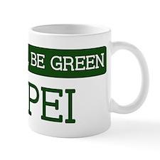 Green TAIPEI Mug