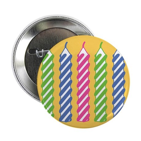 """Birthday Candles 2.25"""" Button"""