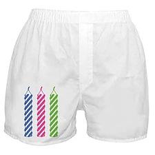 Birthday Candles Boxer Shorts
