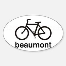 Bike Beaumont Oval Decal