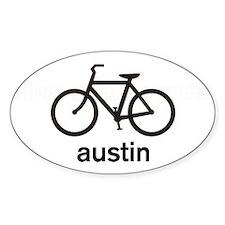 Bike Austin Oval Decal