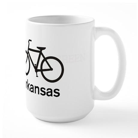 Bike Arkansas Large Mug