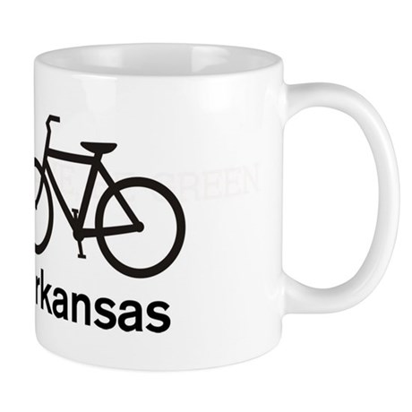 Bike Arkansas Mug