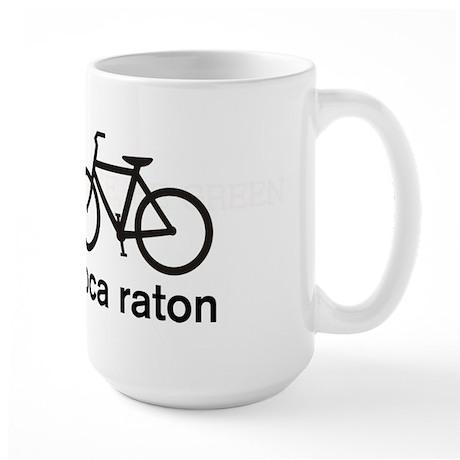 Bike Boca Raton Large Mug