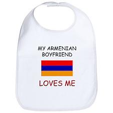My Armenian Boyfriend Loves Me Bib