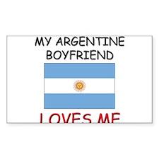 My Argentine Boyfriend Loves Me Decal