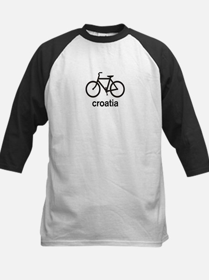 Bike Croatia Kids Baseball Jersey